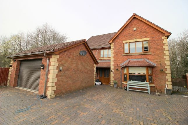 Thumbnail Detached house for sale in Swn Yr Afon, Kenfig Hill, Bridgend.