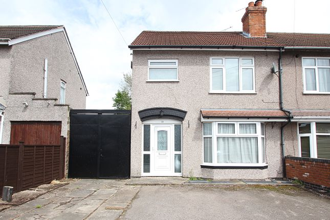 3 bed semi-detached house for sale in Elm Tree Avenue, Tile Hill, Coventry CV4