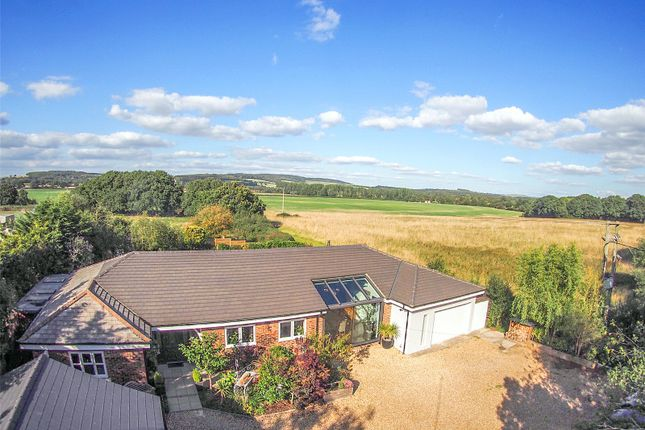 Aerial View of West Ashling Road, Hambrook, Chichester, West Sussex PO18