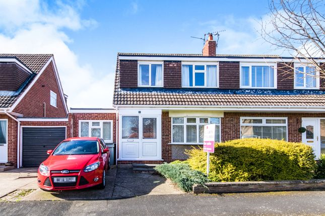 Thumbnail Semi-detached house for sale in Lynden Avenue, Gonerby Hill Foot, Grantham