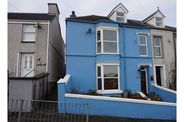 Thumbnail Semi-detached house for sale in Kingsland Road, Holyhead