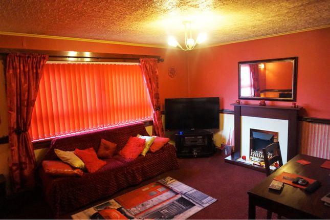 Lounge of 61 Wren Road, Greenock PA16