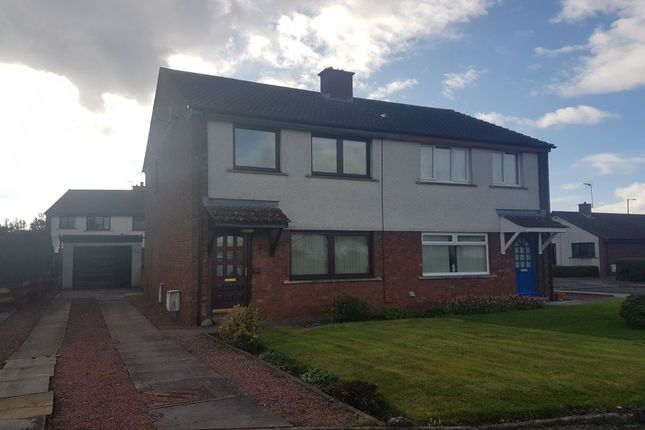 Thumbnail Semi-detached house to rent in Mckerrow Drive, Heathhall, Dumfries