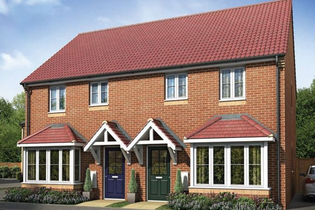 Thumbnail Semi-detached house for sale in Forbes Drive, Peterborough Cambridgeshire