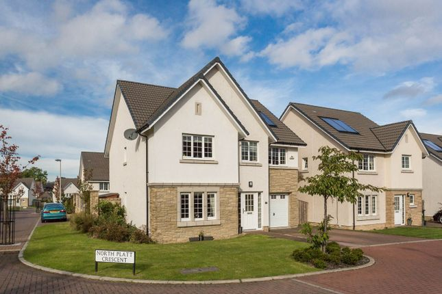 Thumbnail Detached house for sale in North Platt Crescent, Ratho, Newbridge