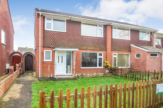 Thumbnail Semi-detached house for sale in Lytchett Way, Poole