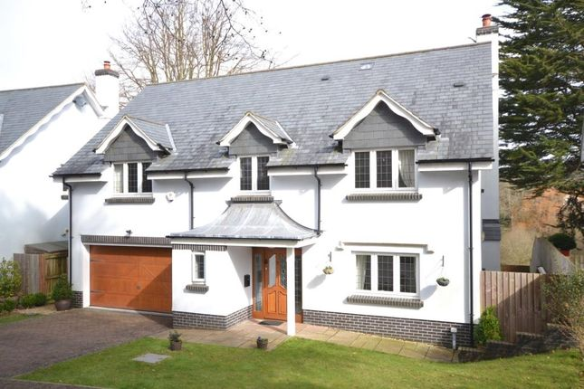 Thumbnail Detached house for sale in Clyst Hayes Gardens, Budleigh Salterton, Devon
