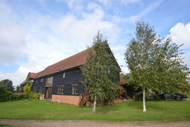 Thumbnail Detached house for sale in Chapel Road, Spooner Row, Wymondham