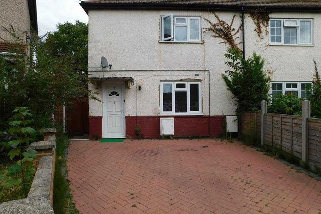 Thumbnail Semi-detached house to rent in Mead Close, Langley, Slough