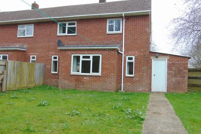 Thumbnail Semi-detached house to rent in Yeo Road, Chivenor, Barnstaple