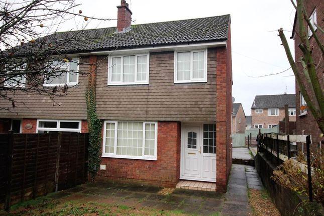 Thumbnail Semi-detached house for sale in Claremont, Malpas, Newport