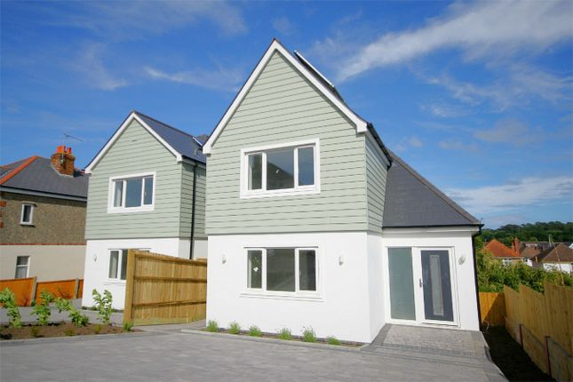 Thumbnail Detached house for sale in Whitefield Road, Whitecliff, Poole, Dorset