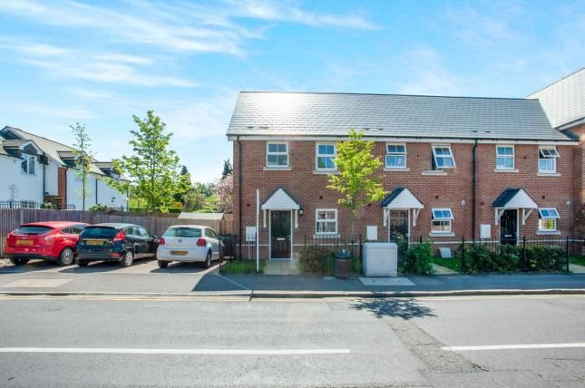 Thumbnail End terrace house for sale in Knaphill, Woking