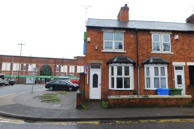 Thumbnail End terrace house to rent in Union Street, Mansfield