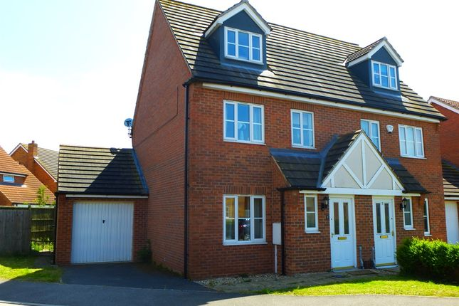 Thumbnail Semi-detached house for sale in Orchard Close, Billinghay, Lincoln