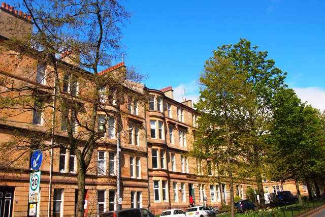 Thumbnail Flat to rent in 80 Barrington Drive, Woodlands, Glasgow