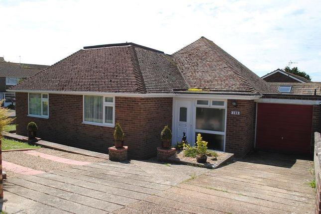 Thumbnail Detached bungalow for sale in Cissbury Crescent, Saltdean, Brighton