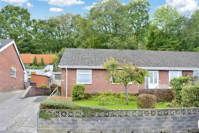 Thumbnail Semi-detached bungalow for sale in Hillcrest Avenue, Aberdare, Rhondda Cynon Taff