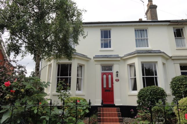 Thumbnail End terrace house for sale in Queens Road, Bury St. Edmunds