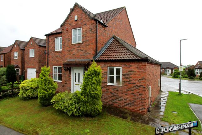 Thumbnail Detached house for sale in Mill View Crescent, Beeford, Driffield