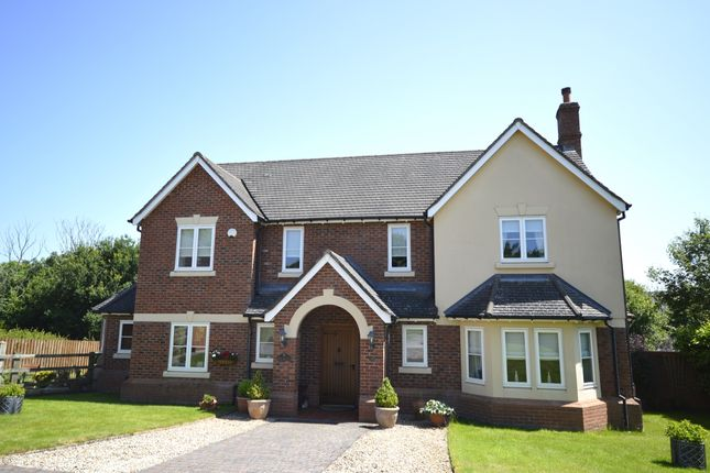 Thumbnail Detached house for sale in Morda Close, Oswestry, Shropshire