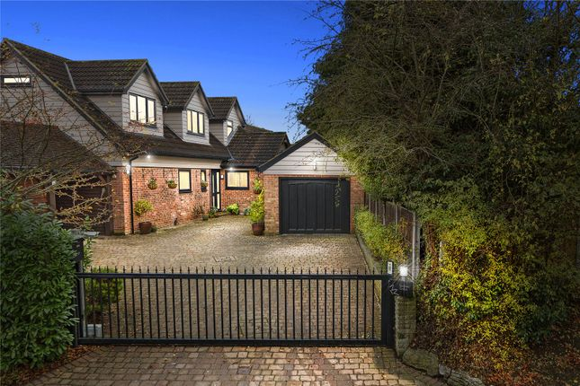 Thumbnail Detached house for sale in Ongar Road, Fyfield, Ongar, Essex