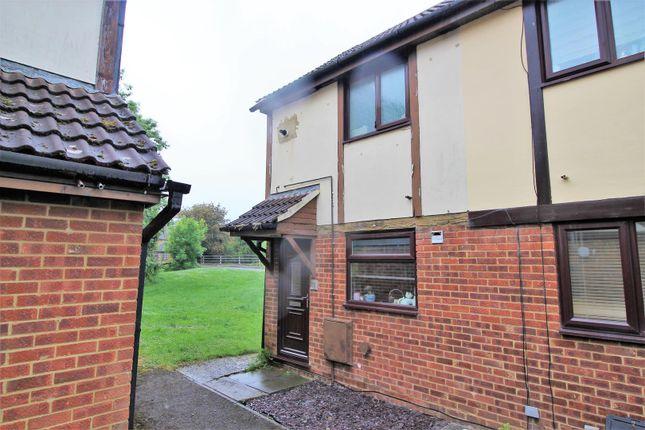 Thumbnail End terrace house for sale in Goldcrest Walk, Covingham, Swindon
