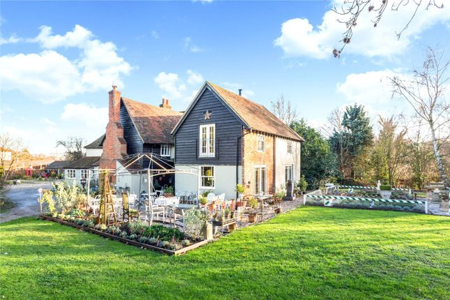 Thumbnail Detached house for sale in Parsonage Lane, Albury, Ware, Hertfordshire