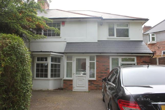 Thumbnail Semi-detached house to rent in Poole Crescent, Birmingham
