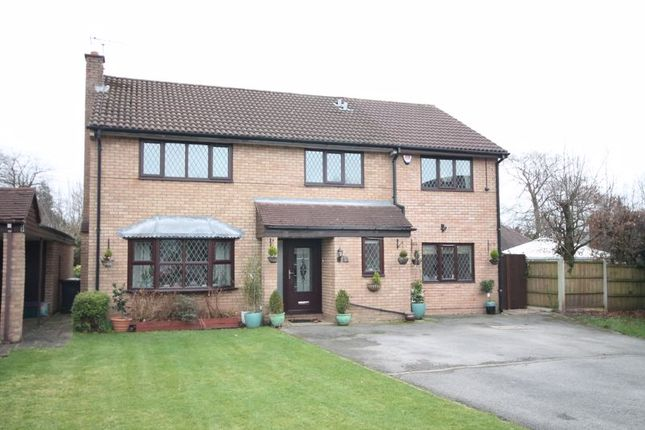 Thumbnail Detached house for sale in Long Meadow, Clayton, Newcastle-Under-Lyme