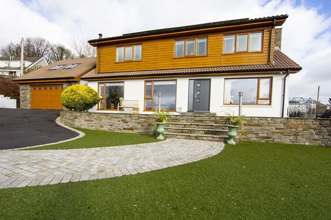 Thumbnail Detached house for sale in Cilsanws Lane, Cefn Coed, Merthyr Tydfil