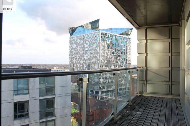 Balcony View of Centenary Plaza, 18 Holliday Street, Birmingham B1