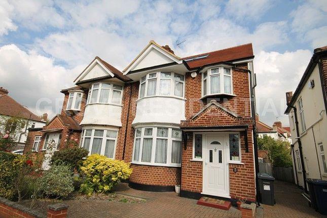 Thumbnail Semi-detached house for sale in Brook Avenue, Edgware