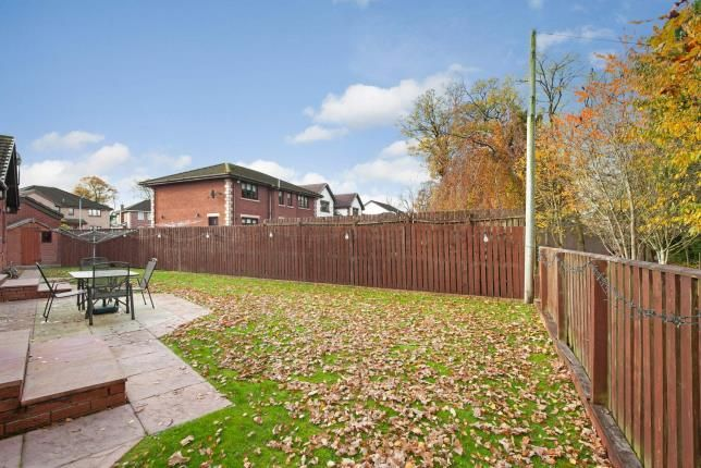 Garden of Herbertson Grove, Blantyre, Glasgow, South Lanarkshire G72