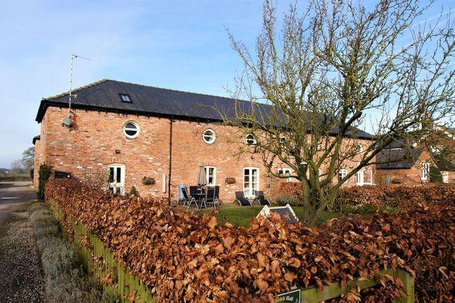 Thumbnail Barn conversion for sale in Smethwick Lane, Brereton, Sandbach