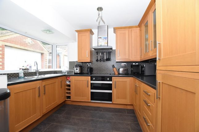 Thumbnail Semi-detached bungalow to rent in Fernlea Grove, Weston Coyney, Stoke-On-Trent