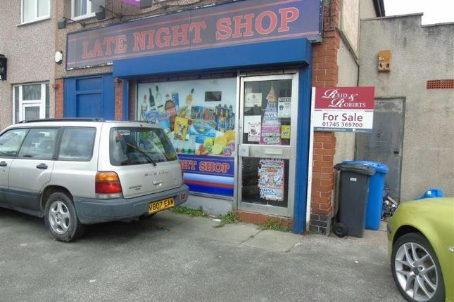 Thumbnail Retail premises for sale in Grange Road, Rhyl