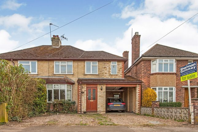 Semi-detached house for sale in Somerset Road, Histon, Cambridge