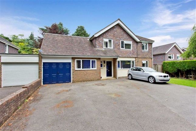 Thumbnail Detached house for sale in Church Road, Crowborough