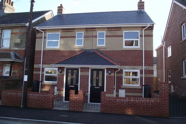 Thumbnail Semi-detached house for sale in Olga Road, Dorchester