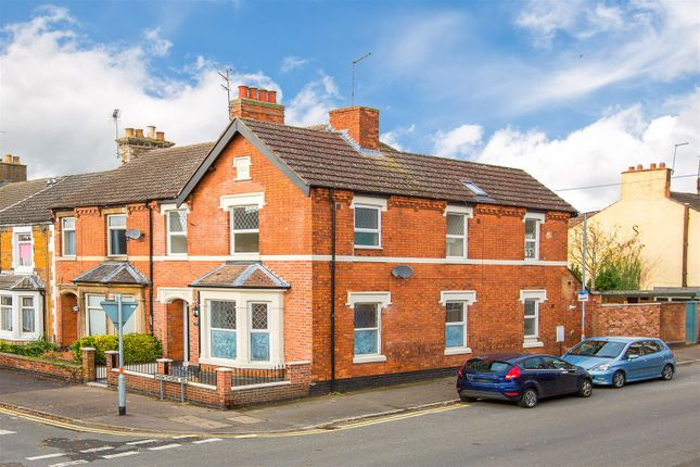 Thumbnail End terrace house for sale in Hawthorn Road, Kettering