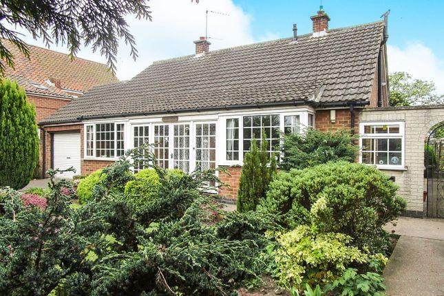 Thumbnail Detached bungalow for sale in Sutton Lane, Sutton, Retford