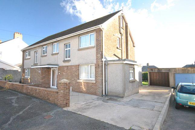 Thumbnail Semi-detached house for sale in Steele Avenue, Carmarthen