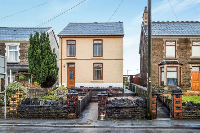 Thumbnail Detached house for sale in Crymlyn Road, Skewen, Neath