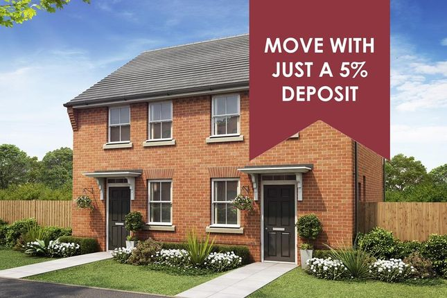 """Thumbnail End terrace house for sale in """"Wilford"""" at Stonnyland Drive, Lichfield"""
