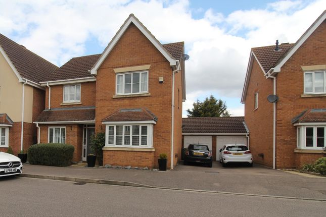 Thumbnail Detached house for sale in Kingfisher Road, Shefford