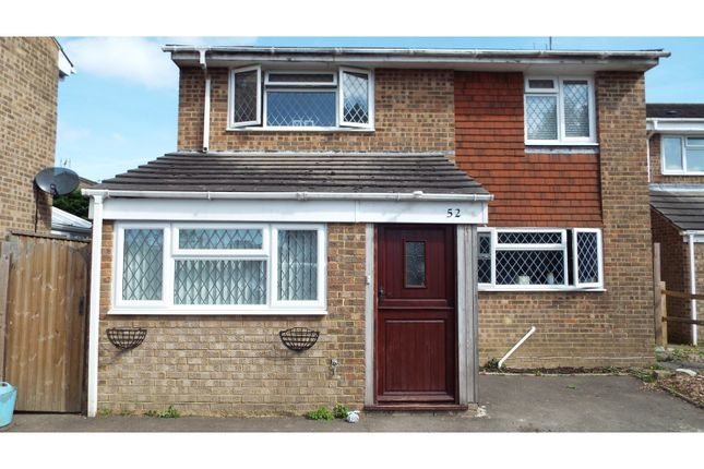 Thumbnail Detached house for sale in Tiltwood Drive, Crawley