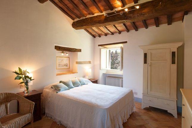Master Bedroom of Casa Molino, Anghiari, Tuscany