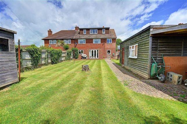 Thumbnail Semi-detached house for sale in Fairfield, Herstmonceux, Hailsham