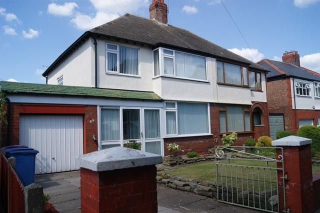 Thumbnail Semi-detached house to rent in Booker Avenue, West Allerton, Liverpool